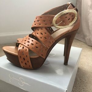 Jessica Simpson Annetty Heel- Tan